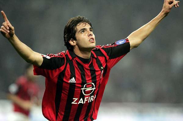 足坛最优雅的10大球星:无梅西C罗 卡卡排第十