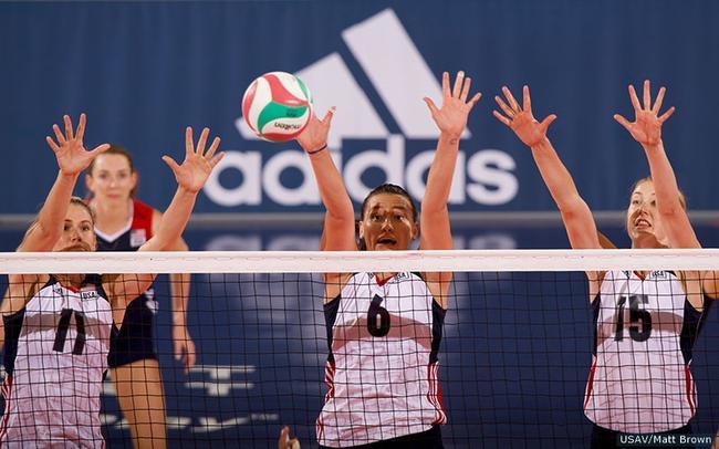 美国女排大冠军杯14人名单 四名将回归墨菲离队