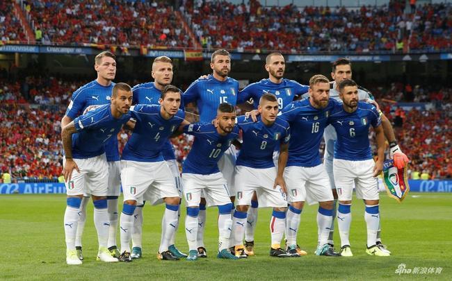 中场失控全队低迷 意大利惨败西班牙追平历史最低