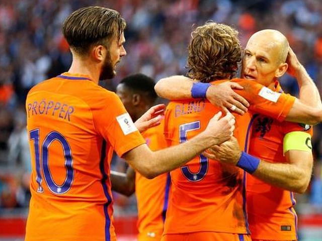 罗本破门荷兰3-1保加利亚