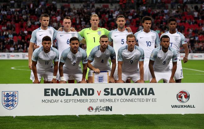 英格兰首发11人