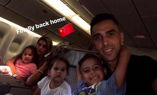 扎哈维返回中国