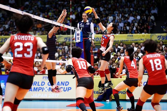 大冠军杯日本女排3