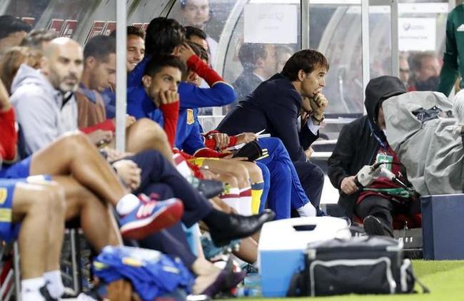 西主帅:冷静!西班牙还没晋级 我们还有两场要踢