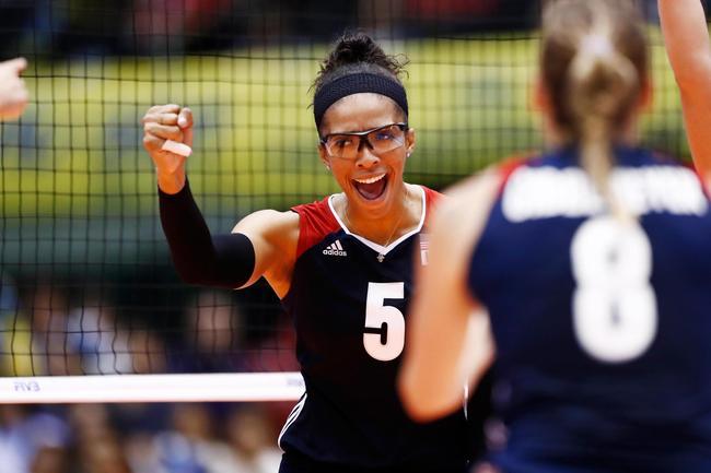 美国女排阵容保留仍零封韩国 赢下大冠军杯首胜