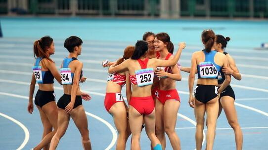 田径女4x100黑马胜国家队主力_世锦赛上可排第六