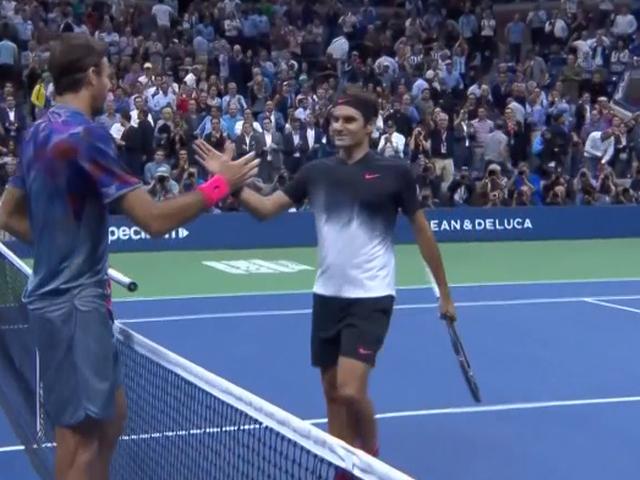 视频-美国网球公开赛复仇失败 费德勒遗憾出局