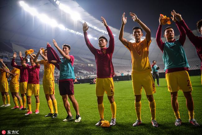 国足遗憾告别2018世界杯