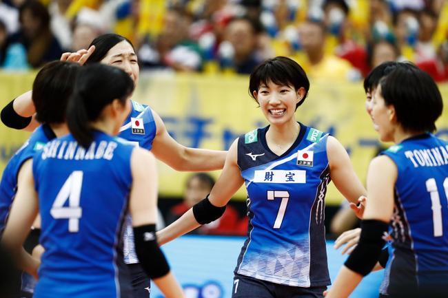 女排大冠军杯日本3