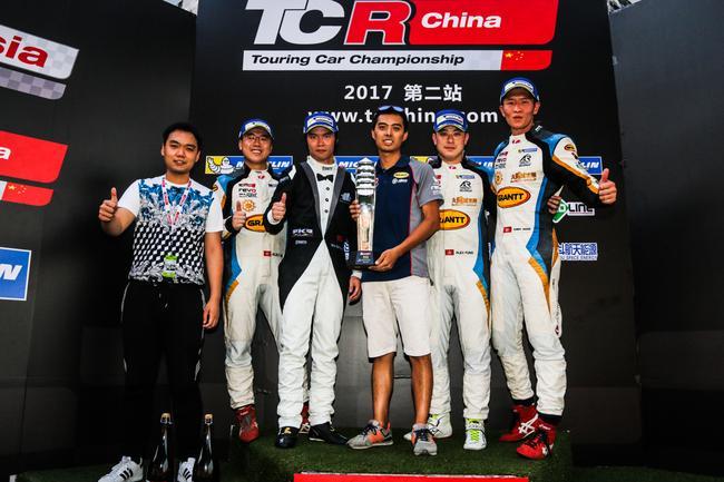 TCR China第三回合车队合影