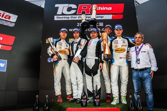 TCR China第三回合合影