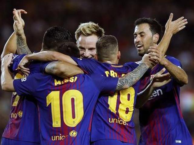 巴萨5-0大胜西班牙人取3连胜