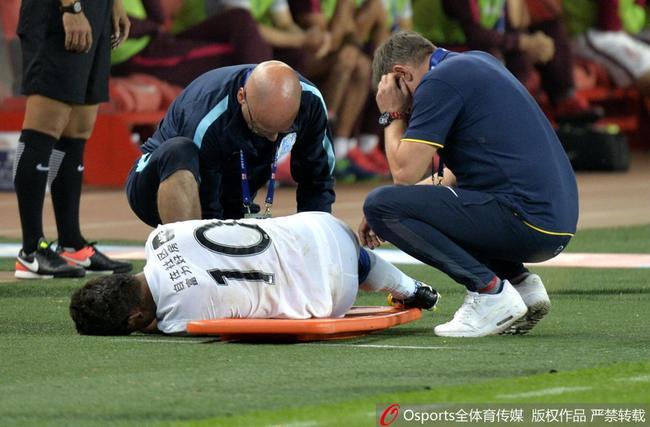 雷鸟伤情回广州后才能确定 佩工:姆比亚是冲球去的