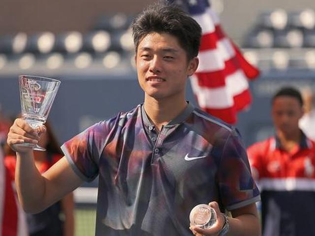 视频-吴易昺夺美网青少年组双冠 创中国网球历史