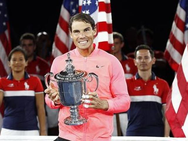 视频-纳达尔时隔4年美网再捧杯 夺大满贯第16冠