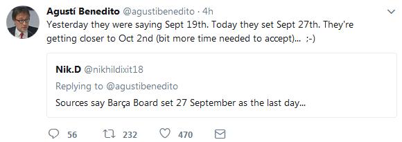 10月2日为最终时限