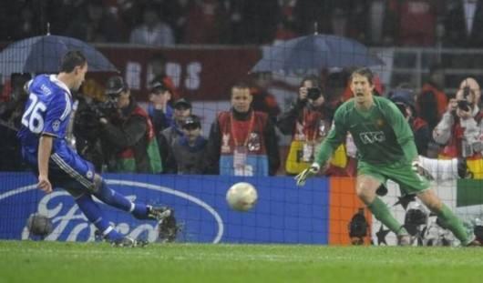 2008年欧冠决赛上演英超内战(曼联vs切尔西)图片