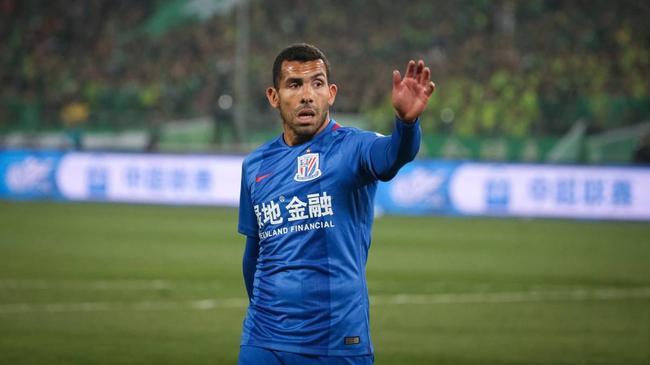 西媒批特维斯职业素养低下:对不起中国的球迷