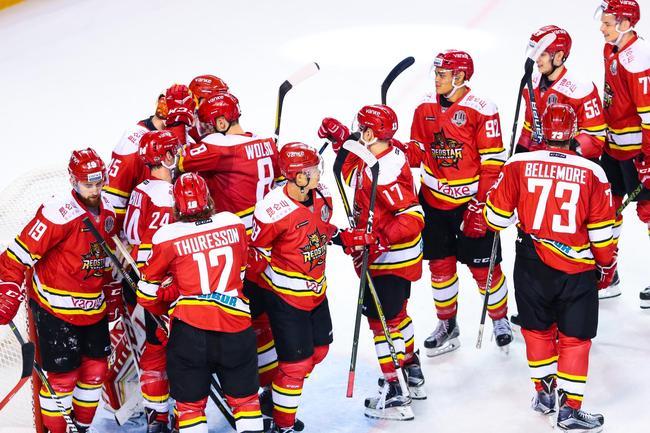 KHL布雷袁俊杰破门 昆仑鸿星重返东部第一
