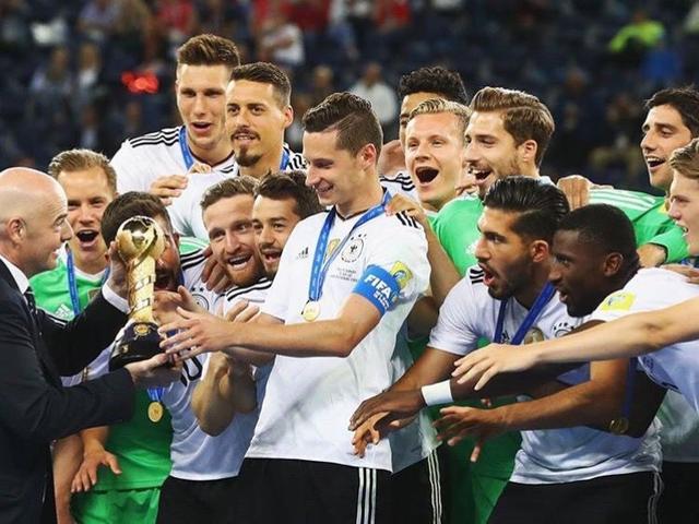 FIFA最新排名:德国重返世界第1 中国创12年新高