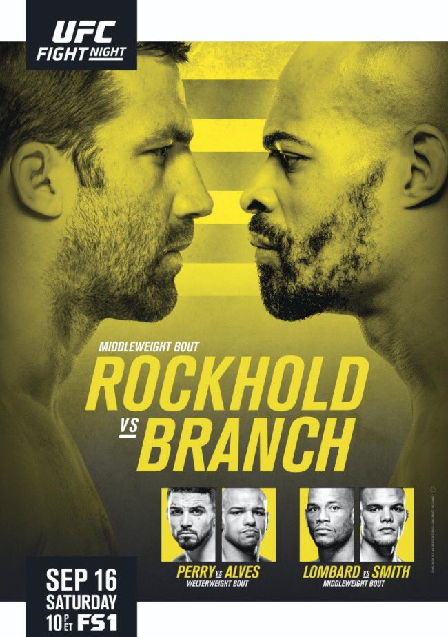 UFC Fight Night 116前瞻:卢克霍德对决布兰奇