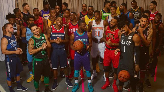 耐克携手NBA发布全新主题版球衣