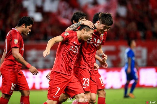 俱乐部排名:上港进TOP60压利物浦 权健超鲁能