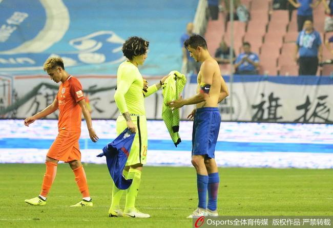 王大雷:几场平局很难受 希望老队友找回申花精神