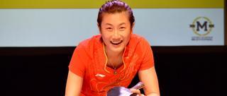 丁宁参加纪念乒乓外交活动