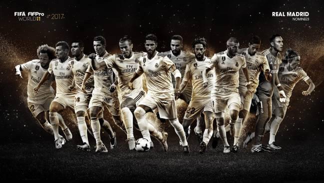FIFA年度最佳阵容候选名单:皇马12人 巴萨8人