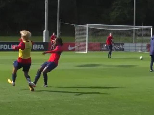 英格兰女足备战世预赛