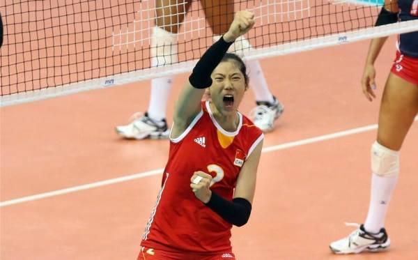 世锦赛预选赛中国女排3