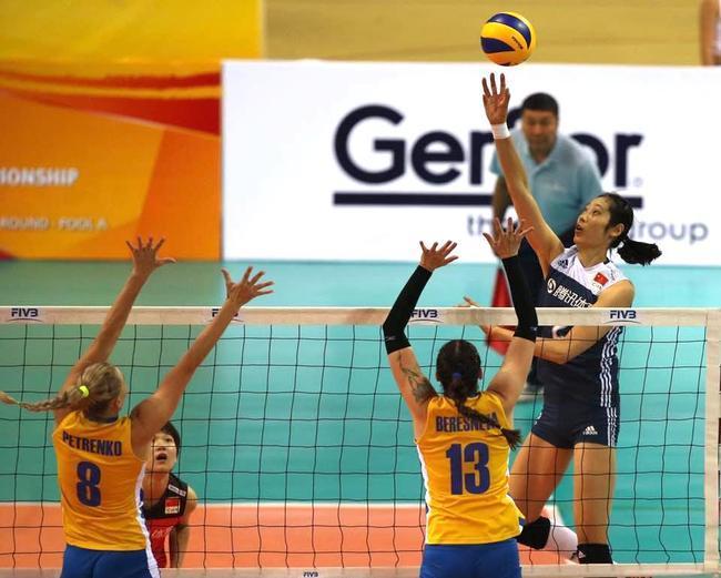 世预赛中国女排变阵克敌