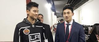 宁泽涛宋安东助阵NHL中国赛