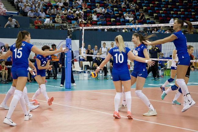 女排欧锦赛8强出炉 荷土附加赛闯关白俄逆袭晋级