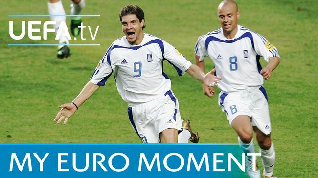 在欧洲排不上号的中锋 打进了能吹一辈子的球!