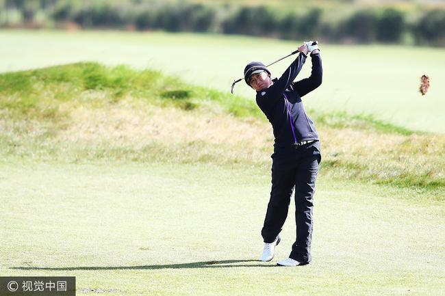 阎菁取得加入LPGA三年最佳战绩