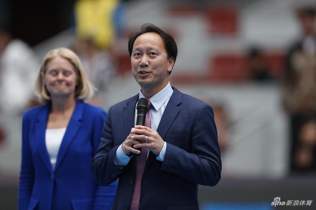 张德培亲临中网 将任网球名人堂2018年全球大使