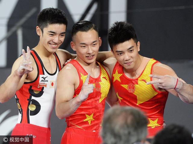 日网友吐槽:没内村日本就不行 中国体操要复活