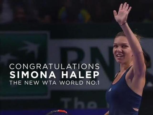 视频-哈勒普荣登世界第一 WTA官方视频祝贺