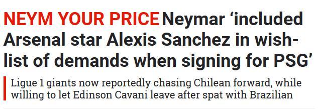 希望巴黎簽下桑切斯