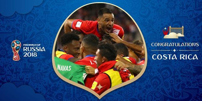哥斯达黎加是上届世界杯八强