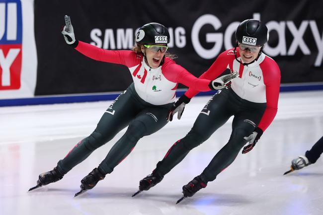 短道世界杯500米加拿大双冠 中国强项再次惨败