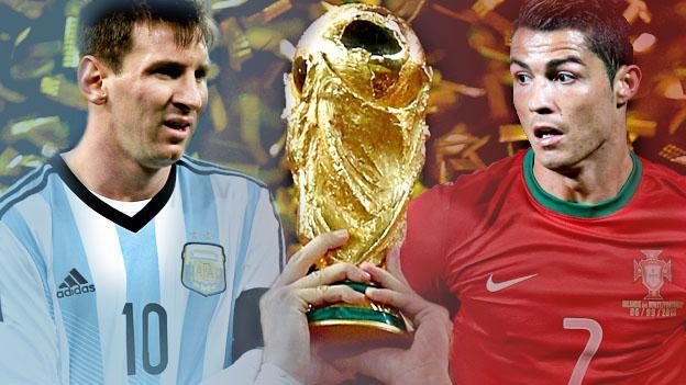 世界杯生死战C罗比梅西有底气