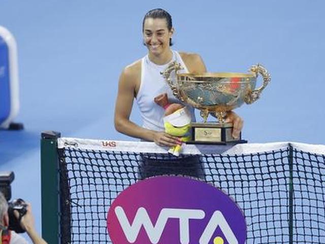视频集锦-中网女单加西亚力克哈勒普 首夺皇冠赛冠军