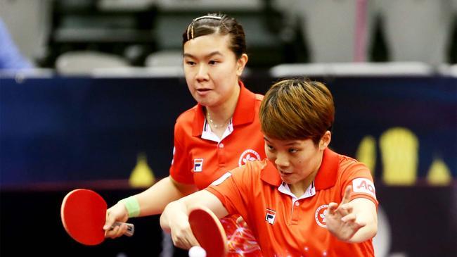 女双中国香港组合夺冠