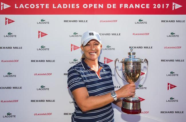 美国名将科尔首次赢得女子欧巡赛