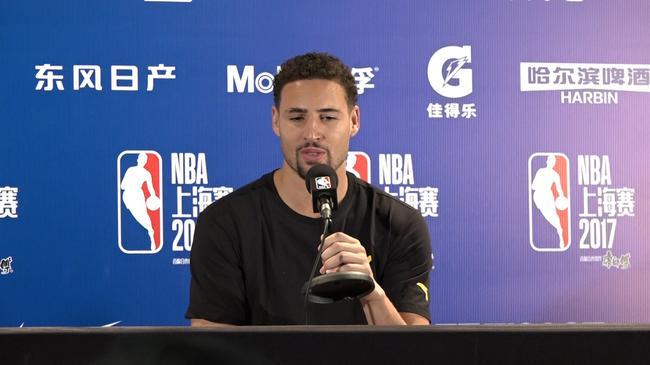 汤神:我爱China Klay这名字 来到中国就像回家