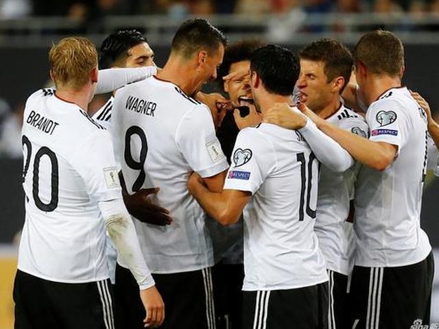 德国队世预赛十战全胜