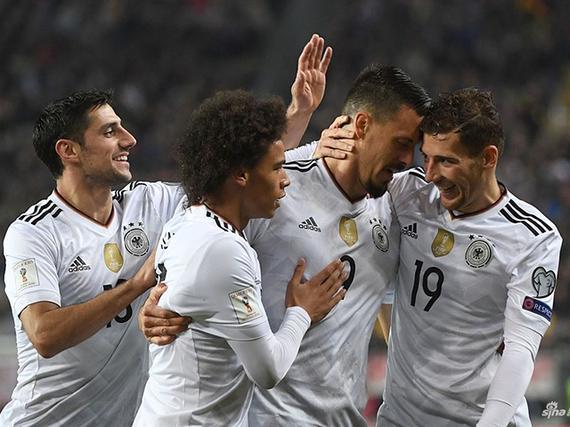 德国5-1全胜出线